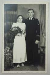 "SS soldier ""Das Reich"" wedding photo."