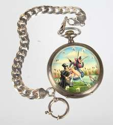 erotic pocket watch with chain