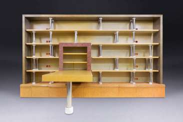 MATTEO THUN 1952 Bolzano (Italy). LARGE SHELF WITH TABLE