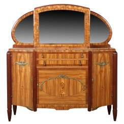 Art Deco Sideboard with display Cabinet top, around 1930,