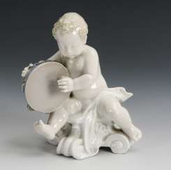 Putto mit Tamburin