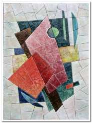 The memory of the Russian avant-garde 3 (part of triptych)