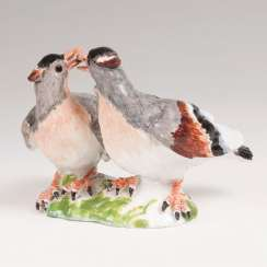 Porcelain Group 'Billing Doves'. Johann Joachim Kaendler