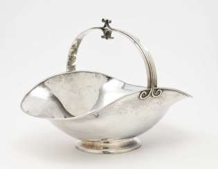 Offering bowl, Bremen workshops for handicraft silver work, around 1930