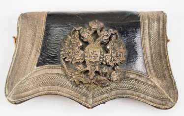 Russia: cartridge box for officers of the Cossacks-line Regiments.