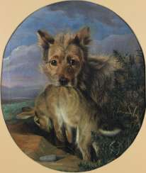 Anonymous animal painter of mid-19th century. Century