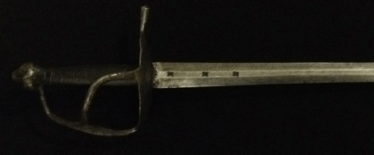 Swedish officer's sword of the XVIII century.