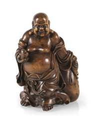 Figure of Budai from boxwood