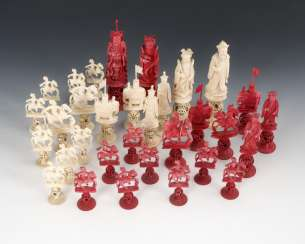 Chess Game Figures - Ivory
