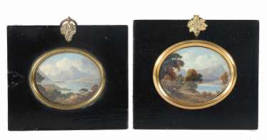 Miniature painters of the 19th century. Century 2x