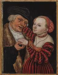 Lucas Cranach the Elder Ä. - The unequal pair