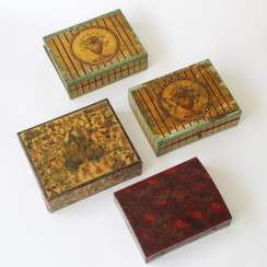 Biedermeier Playing Cards Chips