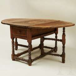 Folding table, probably Portugal, early 18th century
