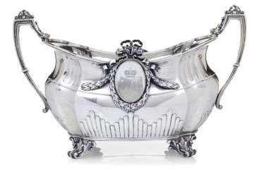 Silver Jardiniere with a princely coat-of-arms