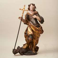 Sculpture of Saint Michael, Lorenz Luidl workshop, Landsberg am Lech, 2nd half of the 17th century