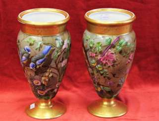 Pair of vases, XIX century