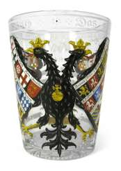 CUP WITH IMPERIAL EAGLE IN THE