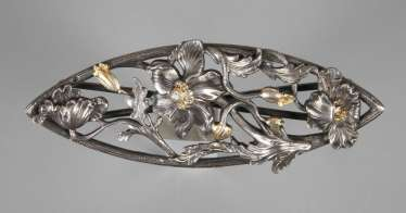 Fine Belt Buckle Art Nouveau