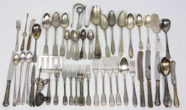Items of Cutlery and serving parts