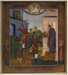 The icon of John the forerunner 19th century