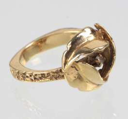 Brillant Ring - Gelbgold 585