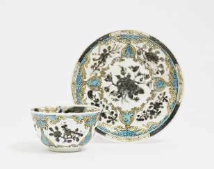 Coupling with saucer, China, 18. Century, the Compagnie des Indes