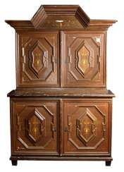 Essay sideboard in Baroque style, around 1910