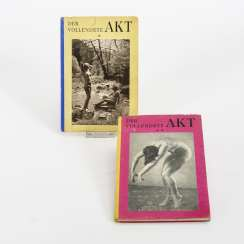 "2 volumes ""The completed act - a picture book of nudity"""