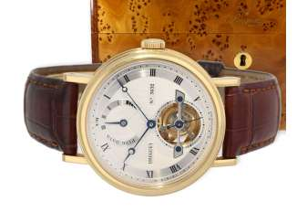 Watch: very high quality, almost mint-preserved Breguet Tourbillon, reference 5317BA,