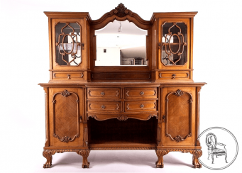 Vintage sideboard of the twentieth century,
