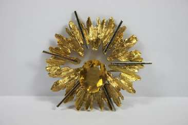 Pin, Yellow Gold