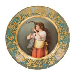 Picture plate in VIENNA STYLE, 19/20. century