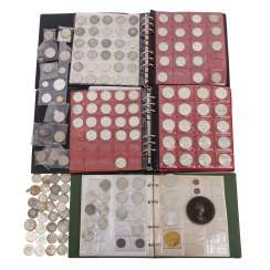 3 coin albums and miscellaneous, including GOLD