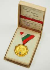 Hungary: Motherhood Medal, 1. Class, in a case, with certificate.