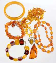 Items Of Amber Jewelry