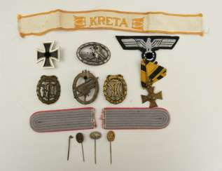 MEDALS AND BADGES COLLECTION, Third Reich 1933-1945