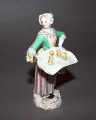 Meissen, Germany, 1949 - th year, according to the model. J. Kaendler (1756 - 1763. g)