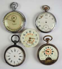 Lot of 5 pocket watches.