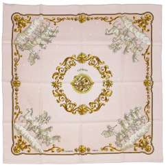 """Cosmos"" silk scarf from HERMÈS"