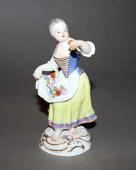 Meissen, Germany, 1955 - th year, according to the model. J. Kaendler (1740)