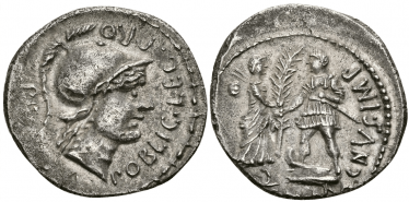 ROMAN REPUBLIC DENARIUS 46 - 45 years