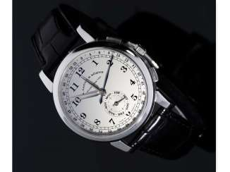 Watch: very interesting, almost as new Investment-at, 50-piece limited edition A. Lange & Söhne