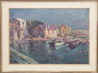 UNKNOWN ARTIST: IN THE EVENING THE PORT