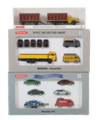 3 model car sets Wiking