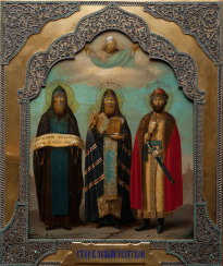 THE ICON OF THE SAINTS IN THE LAND OF TVER