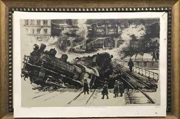 """Герус С.П. """"Диверсия на минской железной дороге"""", 1967 г."""