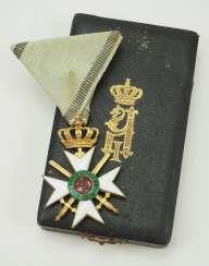 Bulgaria: Military Order for Bravery, 2nd model, 3rd class, in a case.