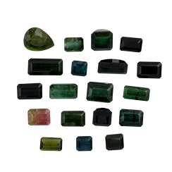 Collection Of Tourmalines,
