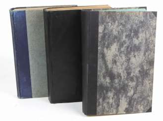 3 volumes monthly books 1907/28