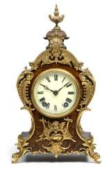Table clock in the Rococo style